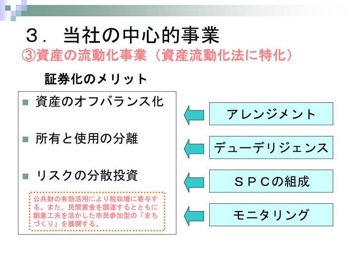 3.当社の中心的事業