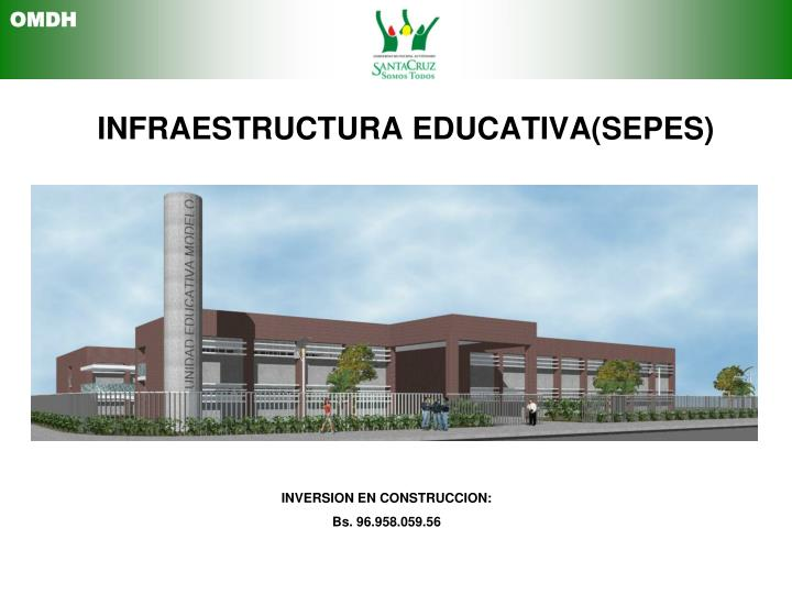 INFRAESTRUCTURA EDUCATIVA(SEPES)