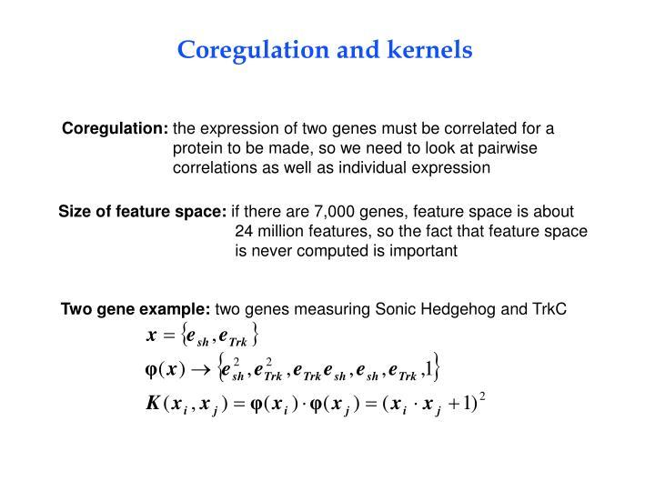 Two gene example: