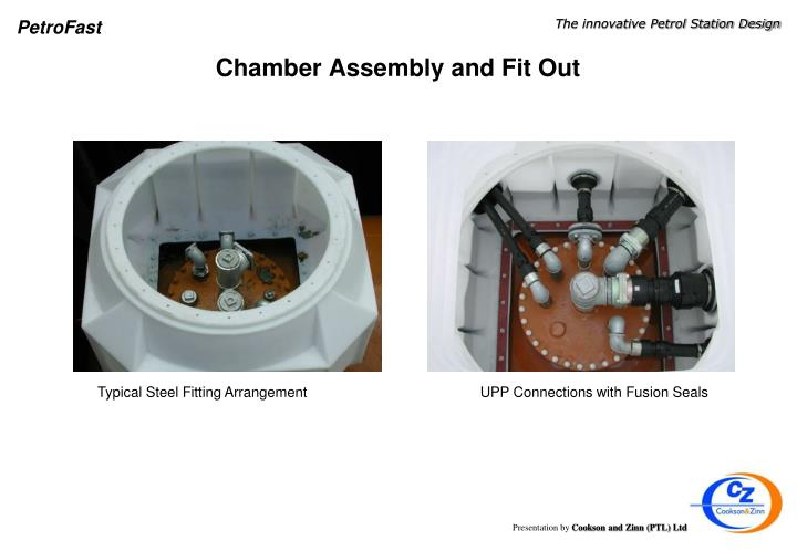 Chamber Assembly and Fit Out
