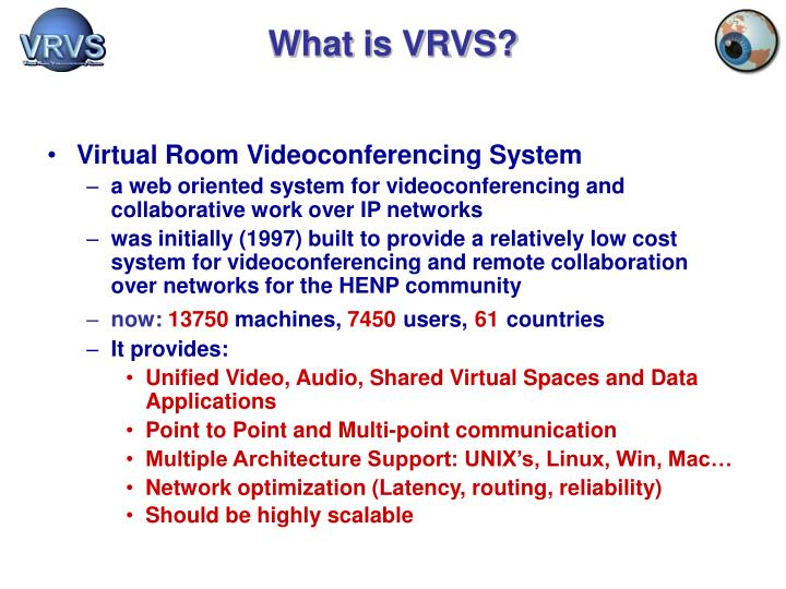 What is vrvs