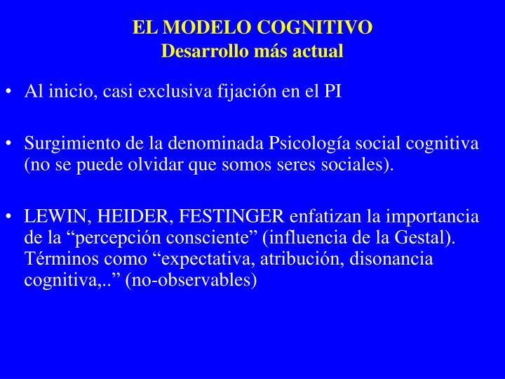 EL MODELO COGNITIVO