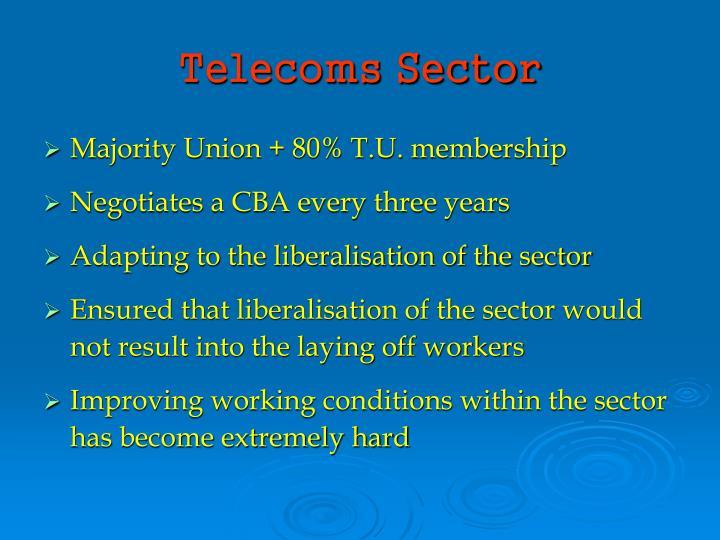Telecoms Sector