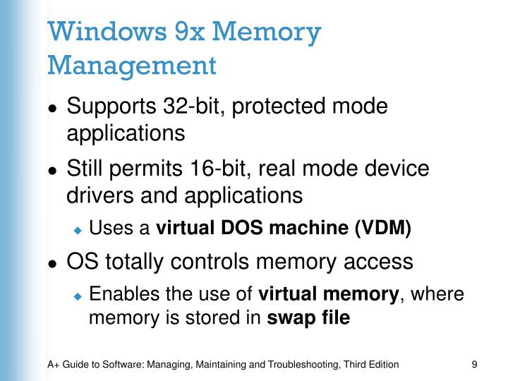 Windows 9x Memory Management