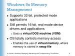 windows 9x memory management