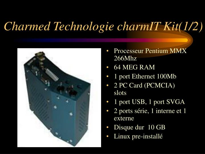 Charmed Technologie charmIT Kit(1/2)