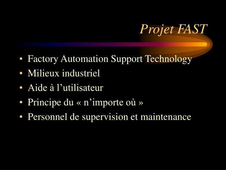 Projet FAST