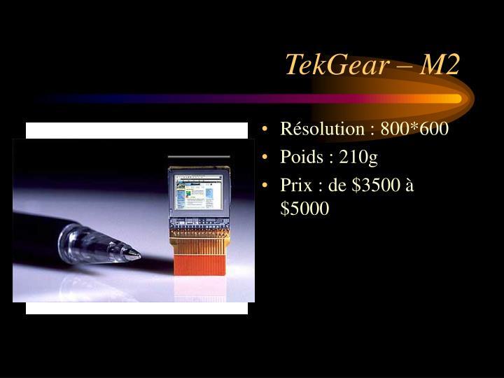 TekGear – M2