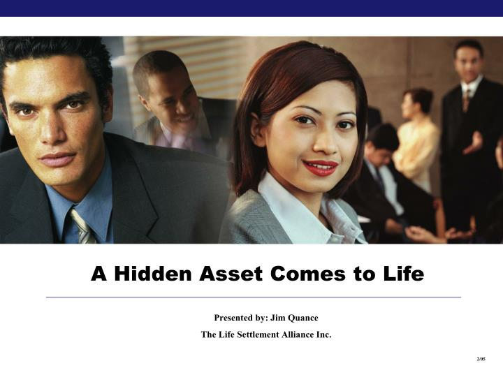 A Hidden Asset Comes to Life