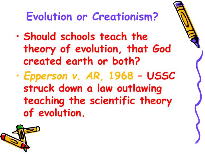 Evolution or Creationism?