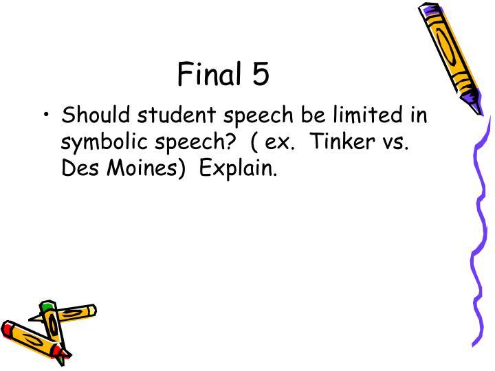 Final 5