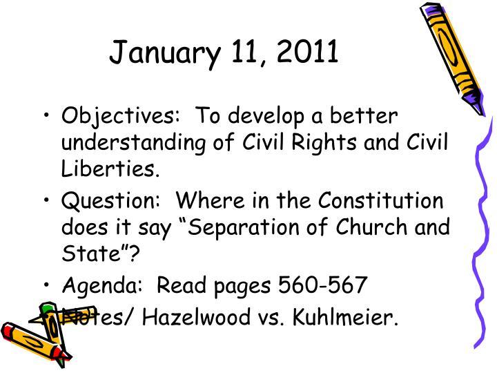 January 11, 2011