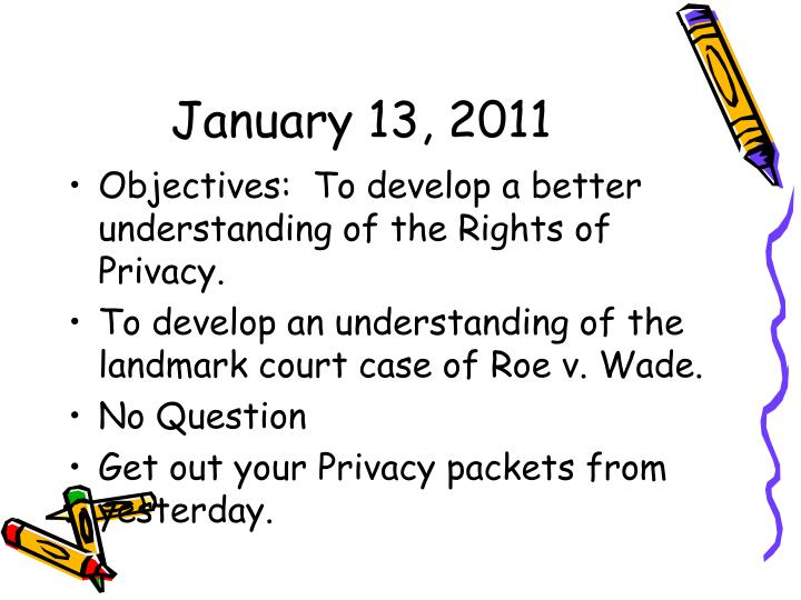 January 13, 2011