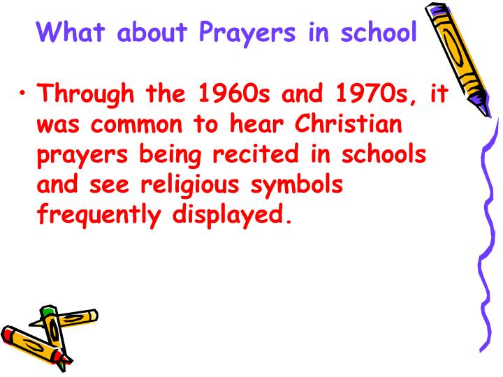 What about Prayers in school
