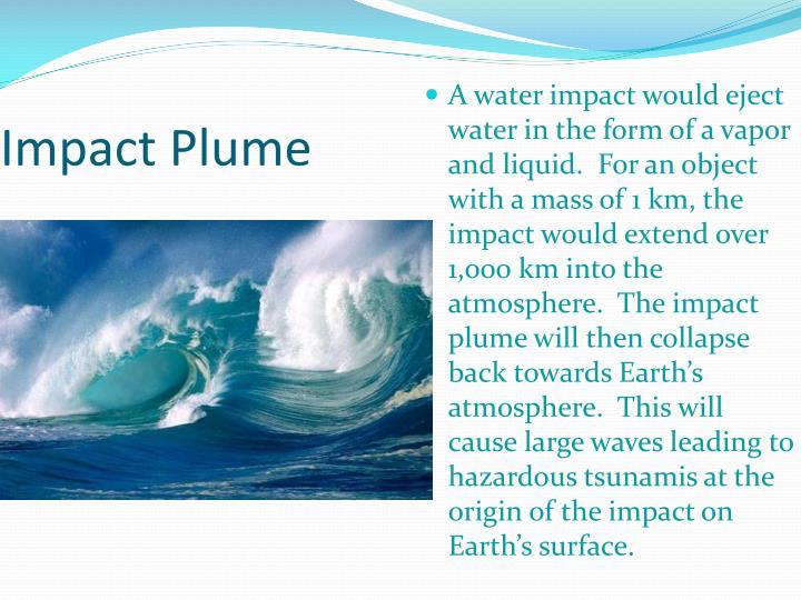Impact Plume