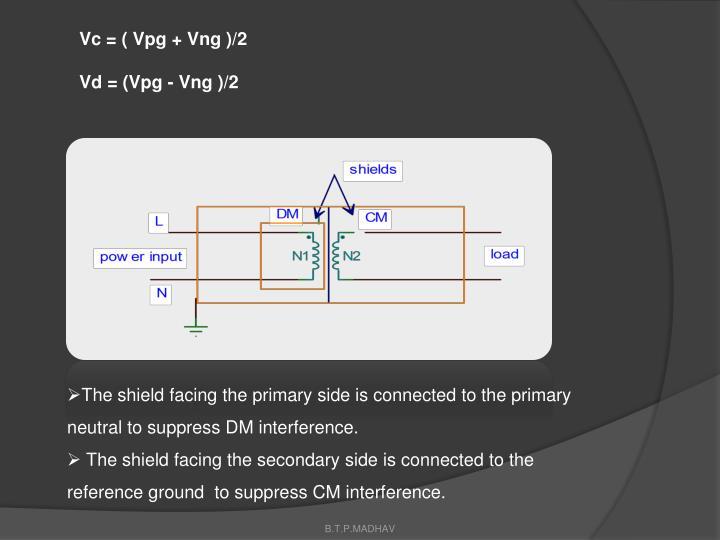 Vc = ( Vpg + Vng )/2