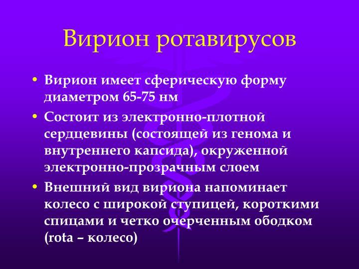 Вирион ротавирусов