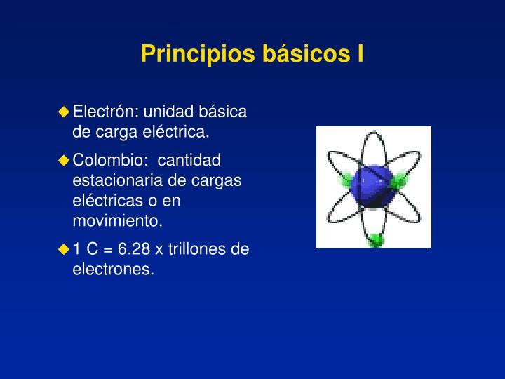 Principios básicos I