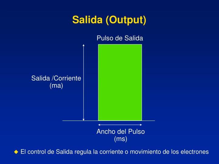 Salida (Output)