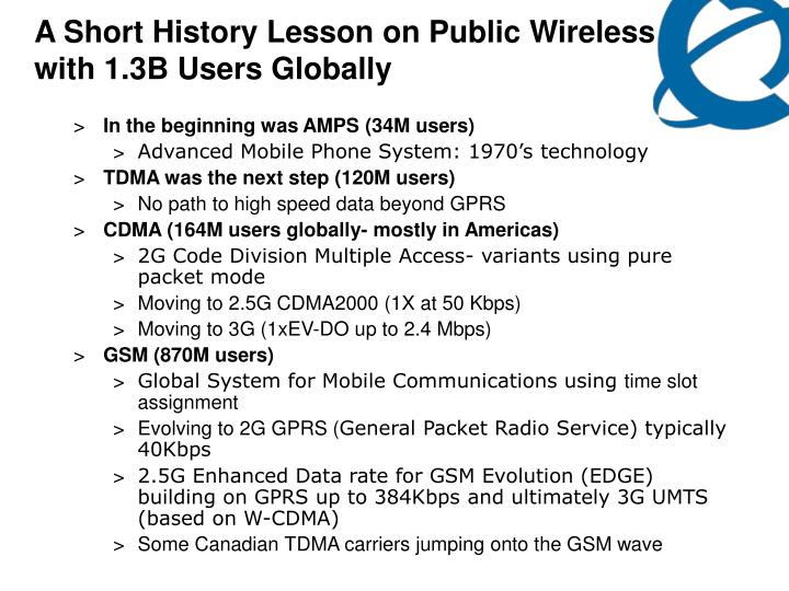 A Short History Lesson on Public Wireless with 1.3B Users Globally
