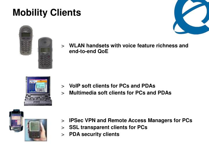 Mobility Clients