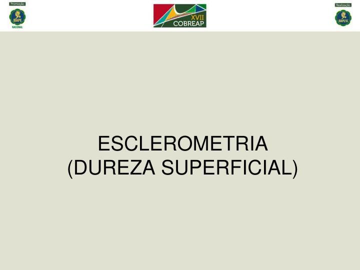 ESCLEROMETRIA