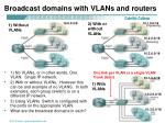 broadcast domains with vlans and routers1