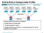 end to end or campus wide vlans
