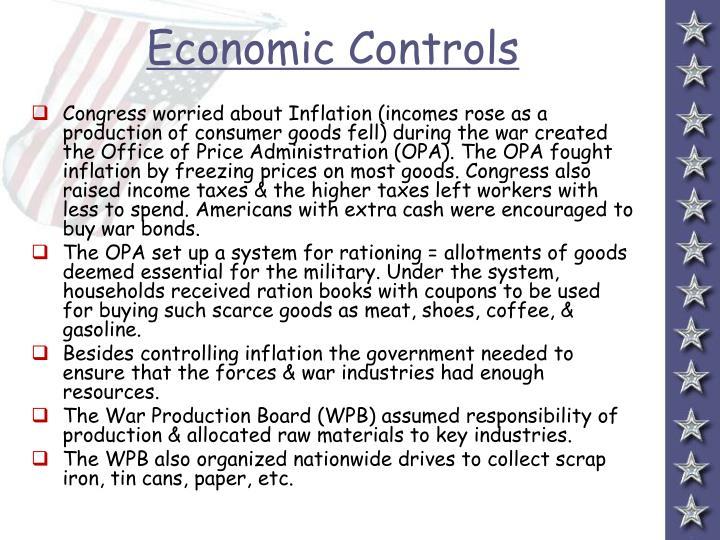 Economic Controls