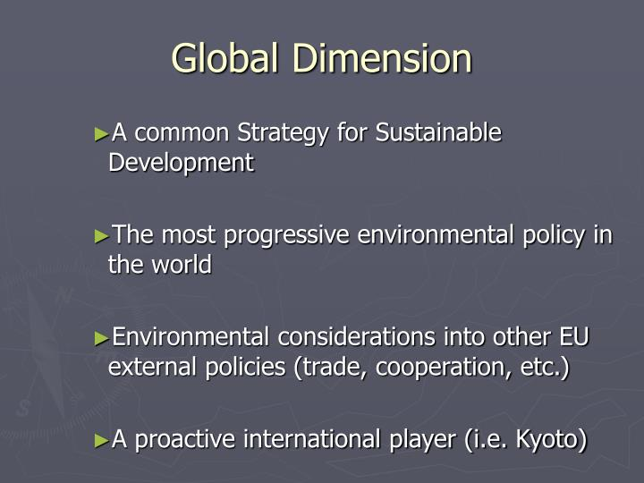 Global Dimension