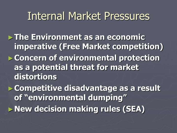 Internal Market Pressures
