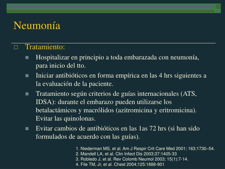 Neumonía
