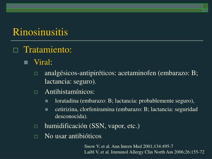 Rinosinusitis