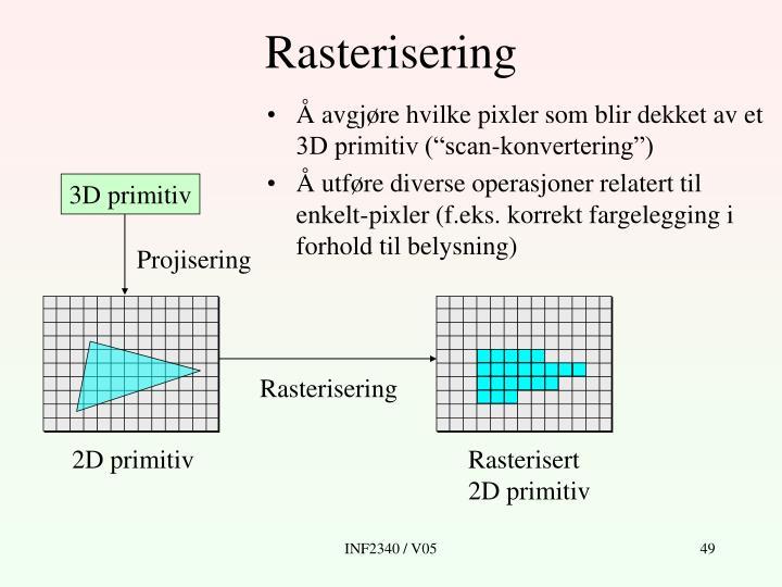 Rasterisering