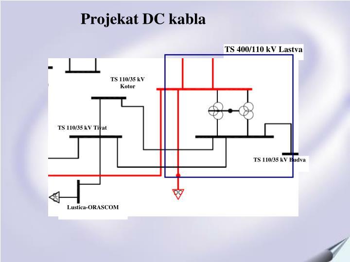 Projekat DC kabla