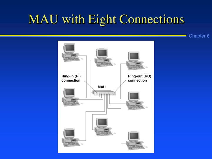 Mau with eight connections