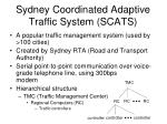 sydney coordinated adaptive traffic system scats