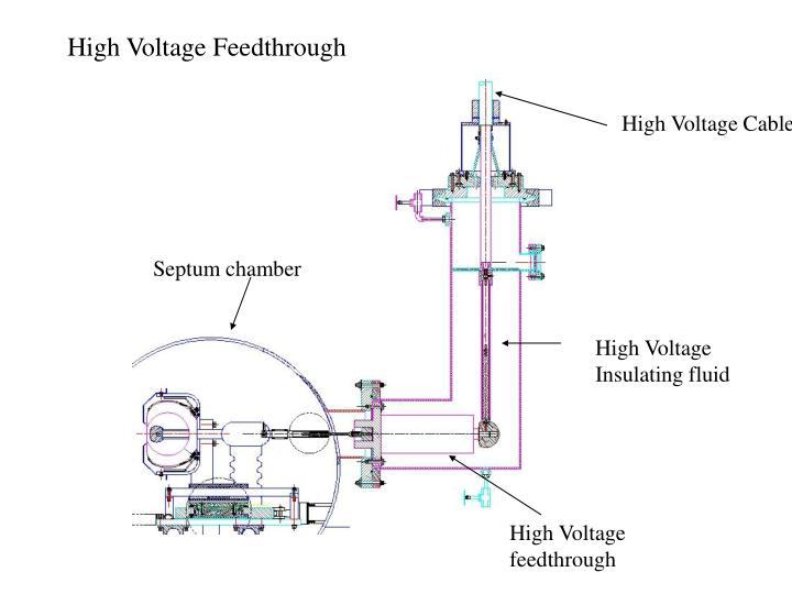 High Voltage Feedthrough