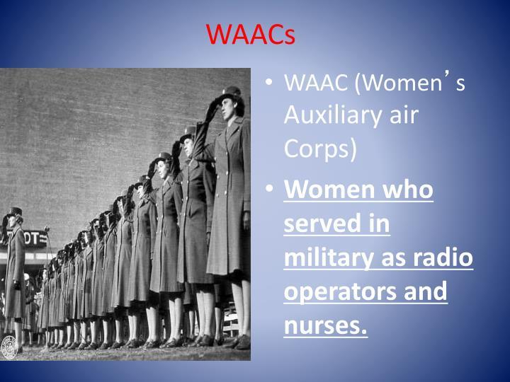WAACs