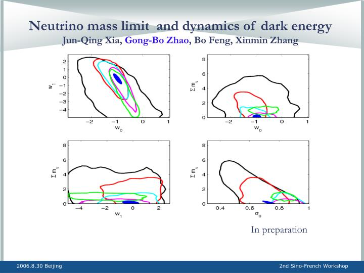 Neutrino mass limit  and dynamics of dark energy