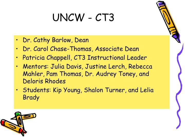 UNCW - CT3