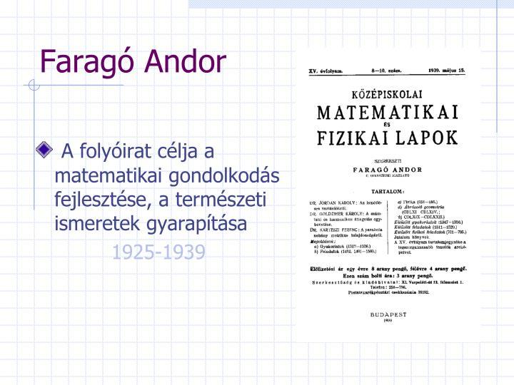 Faragó Andor