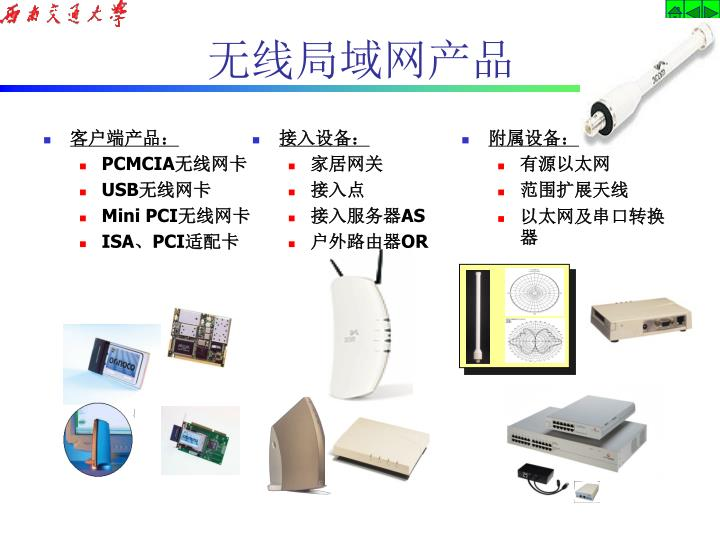 无线局域网产品