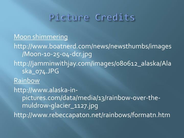 Picture Credits