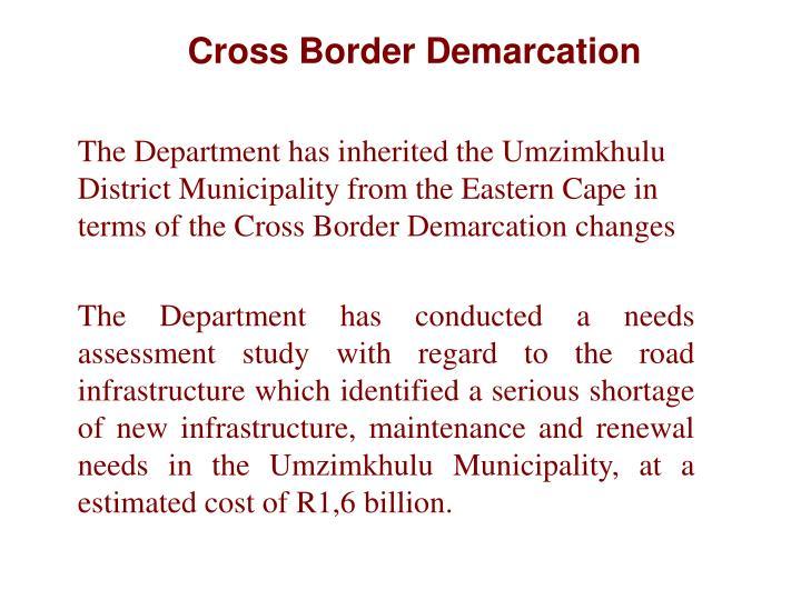 Cross Border Demarcation