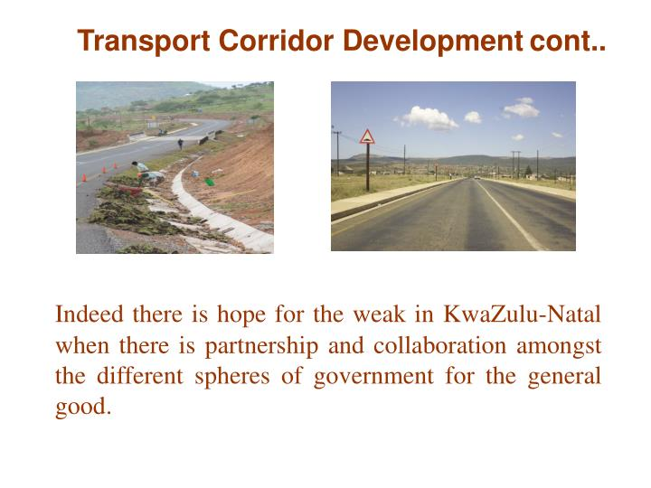 Transport Corridor Development