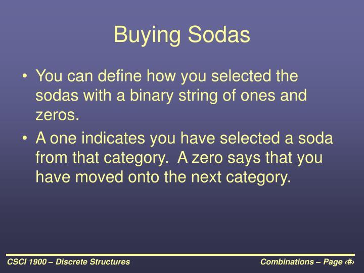Buying Sodas
