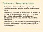 treatment of impairment losses