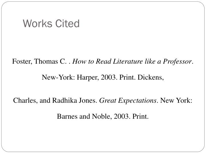 quotes from how to read literature like a professor