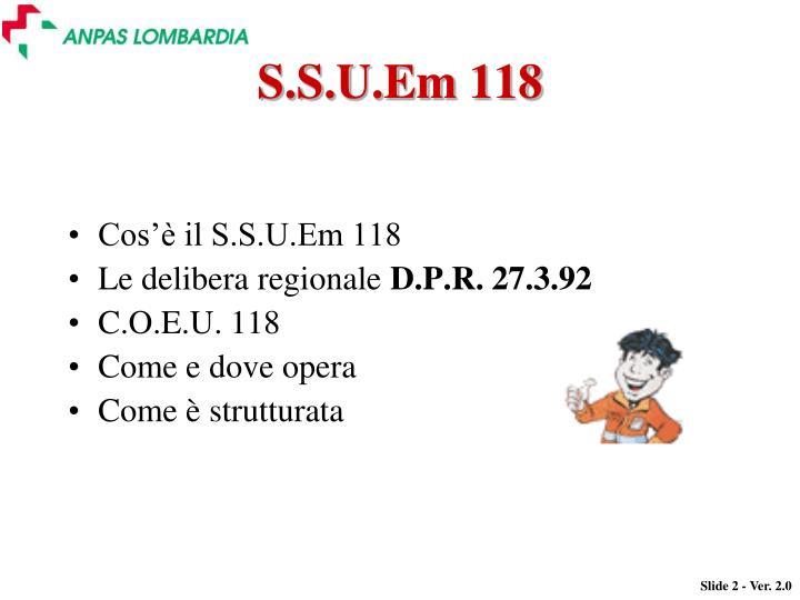 S.S.U.Em 118